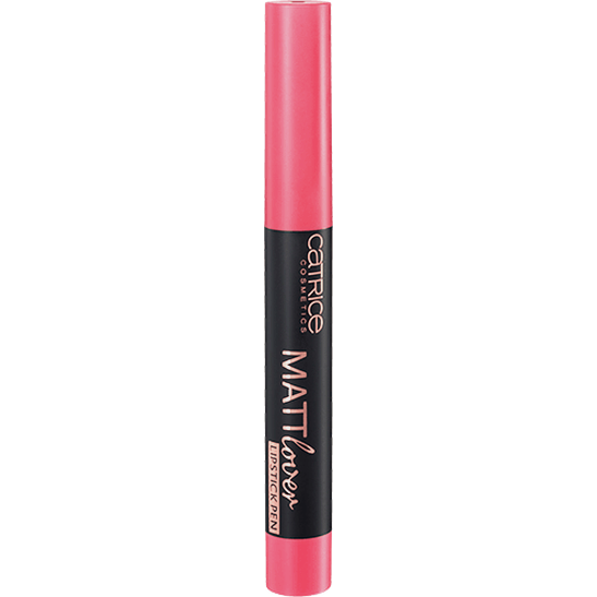 Mattlover Lipstick Pen tomato red is fab - vegan