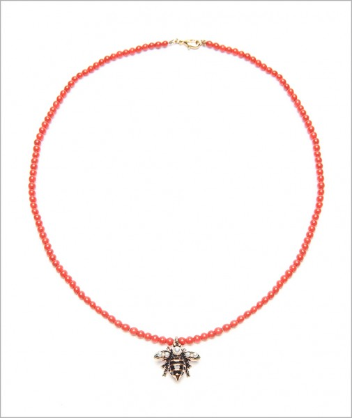 Necklace Busy Bee