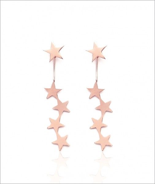 Earrings With Five Stars