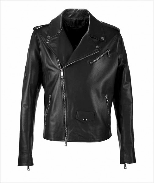 "Biker Leather Jacket ""Dave"""