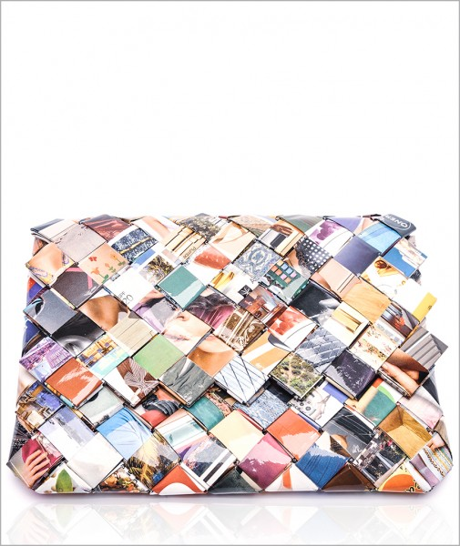 Colorful Recycled Clutch