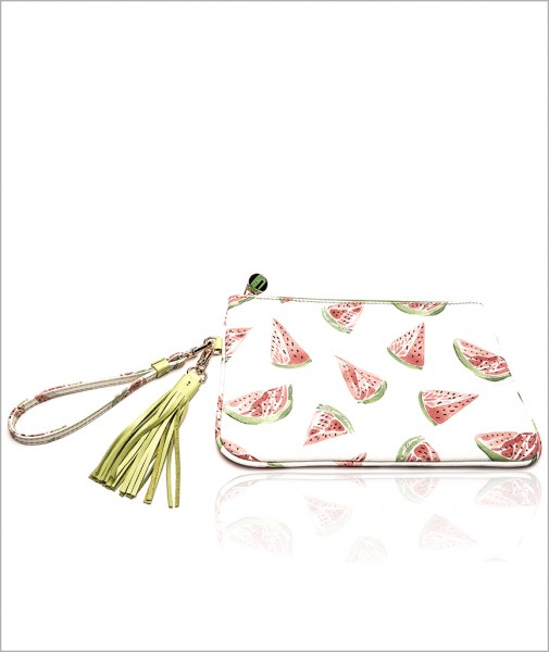 Dalida Clutch in Watermelon
