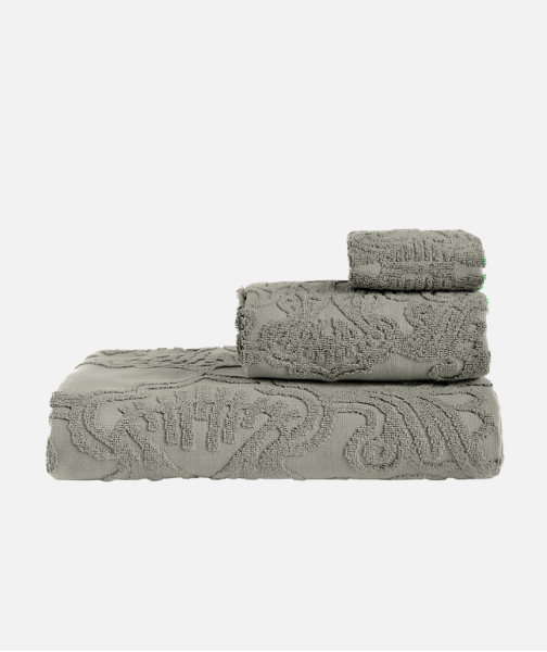 Jacquard shower & bath towel in 5 colours