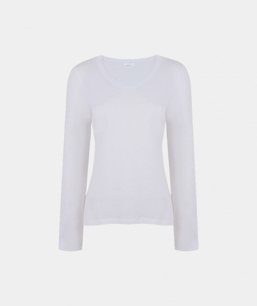 Blanche Round-Neck Long Sleeve