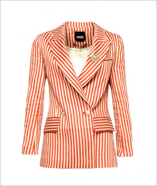 Jacket Red Thick Lined
