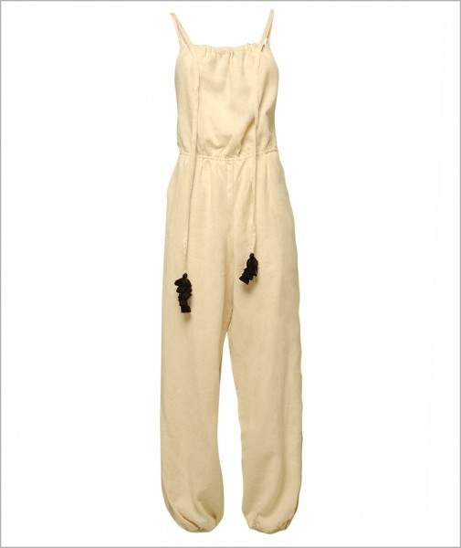 Linen Cotton Yoga Jumpsuit
