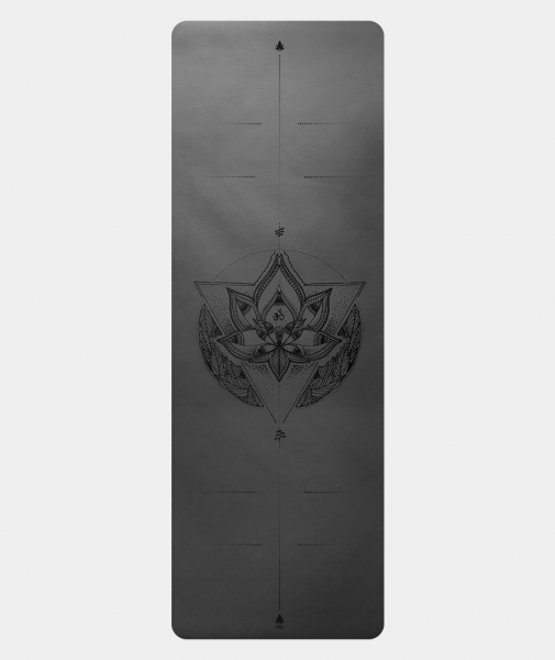 Instagrip Yoga Mat Black Lotus