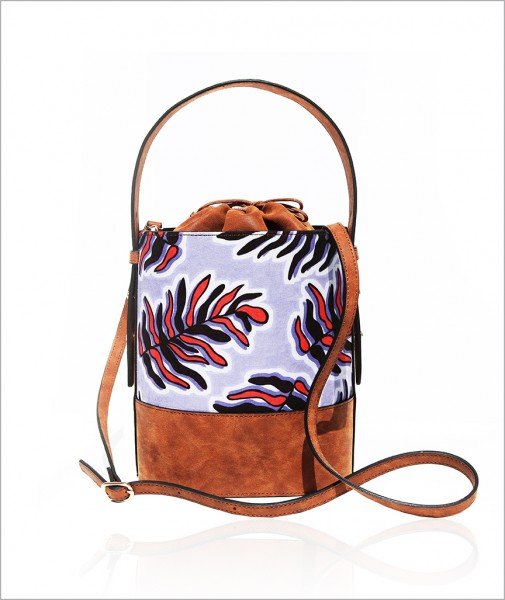 Bucket Tasche in Lila