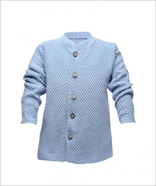 Cotton Cardigan Light Blue