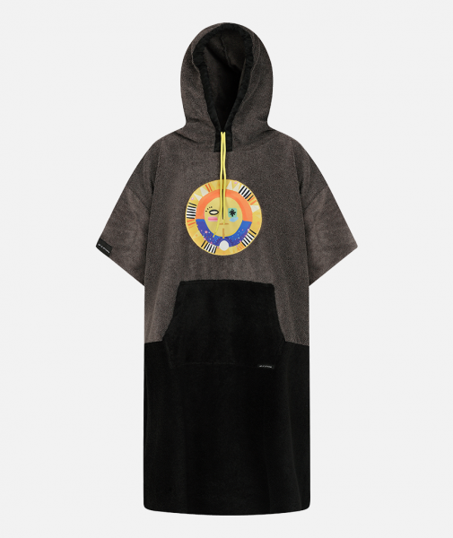 Sun Year Terry Poncho
