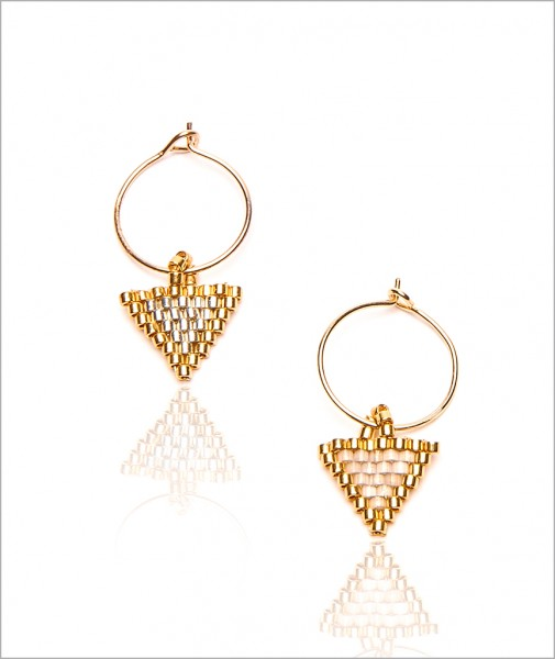 Earrings The little Triangle