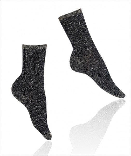 Gold Silvery Socks