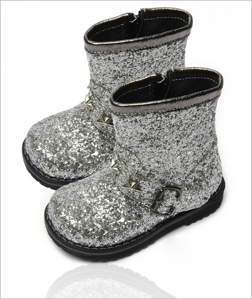 Boots Silver