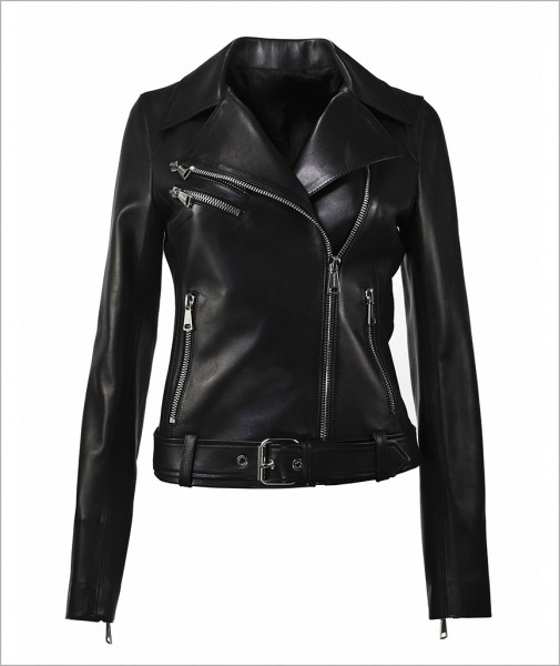 "Leather Jacket ""Roxy"""