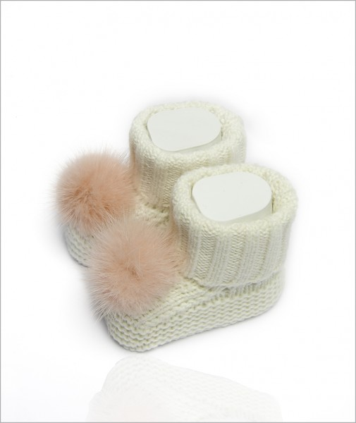 Baby Booties Pearl