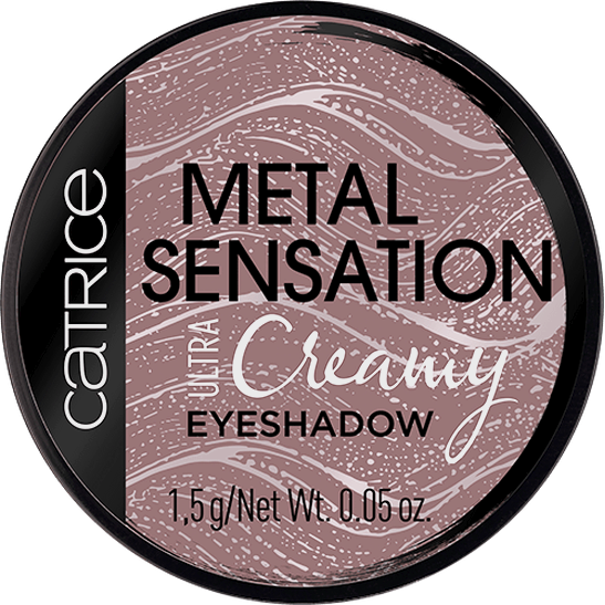 Metal Sensation Ultra Creamy Eyeshadow mauve browntown - vegan