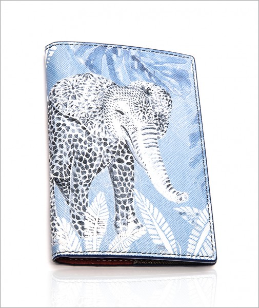 Gemma Passport Holder In Elephant