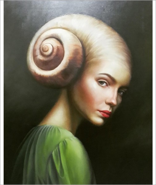 Portrait of Snail Girl