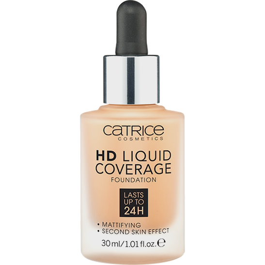 HD Liquid Coverage Foundation camel beige - vegan