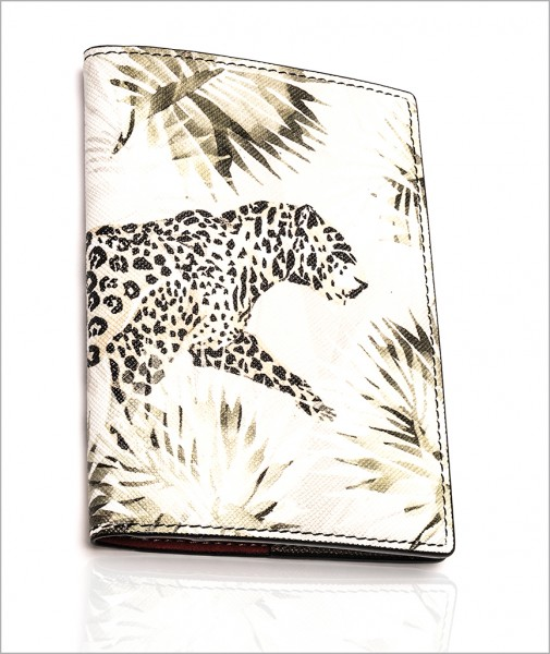 Gemma Passport Holder In Tiger