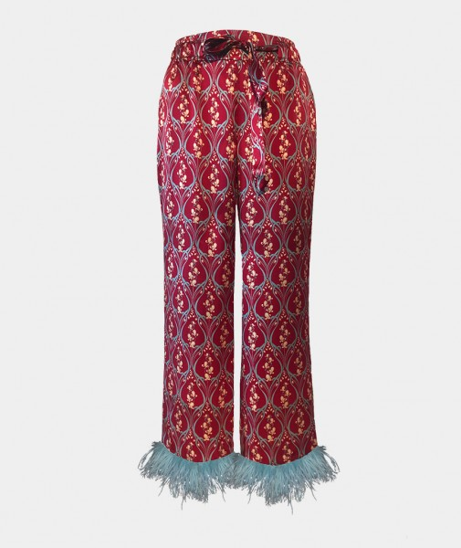 Ophelia Pants With Feathers
