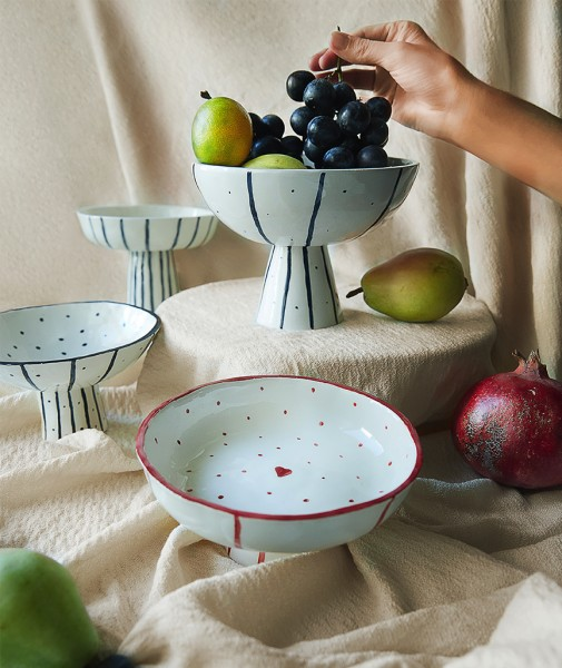 Amore Footed Bowl
