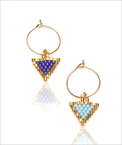 "Earrings ""The little Triangle"""