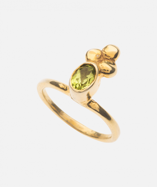 Peridot Royal Ring