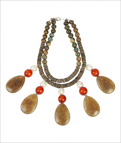 Necklace Natural Stone