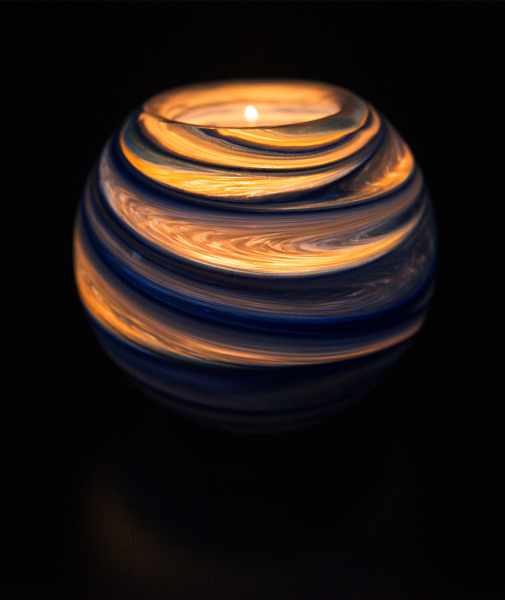 Earth Candle Holder