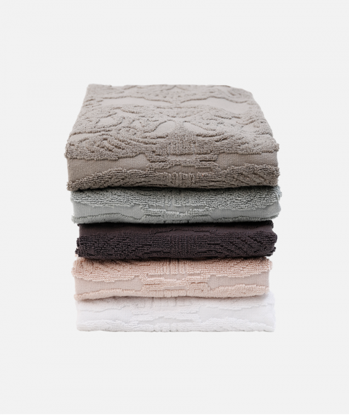 Jacquard Hair towel in 5 colours