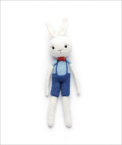 Rabbit With Red Bow Tie