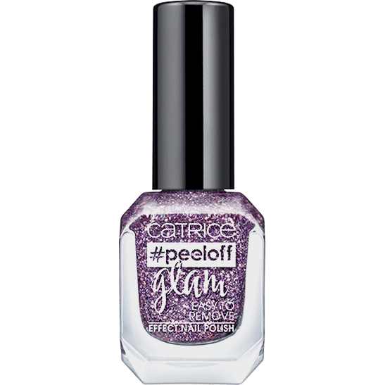 peeloff glam Easy To Remove Effect Nail Polish Dance all night, sparkle all day - vegan