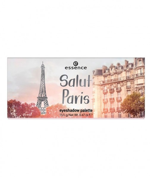 Salut Paris eyeshadow palette - vegan