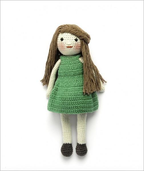 Girl with Green Dress